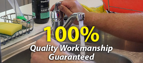 100% Quality Workmanship Guarantee - Plumber South Brisbane