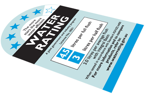 Water Efficiency Certificate